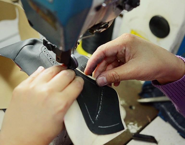 fábrica de zapatos