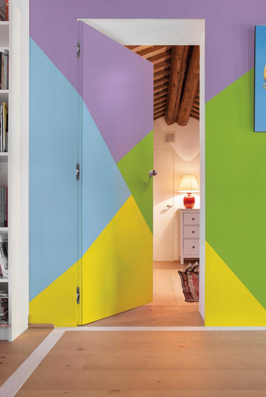 Dipingere Le Porte Di Casa 6 idee per trasformare la porta di casa - eclisse blog
