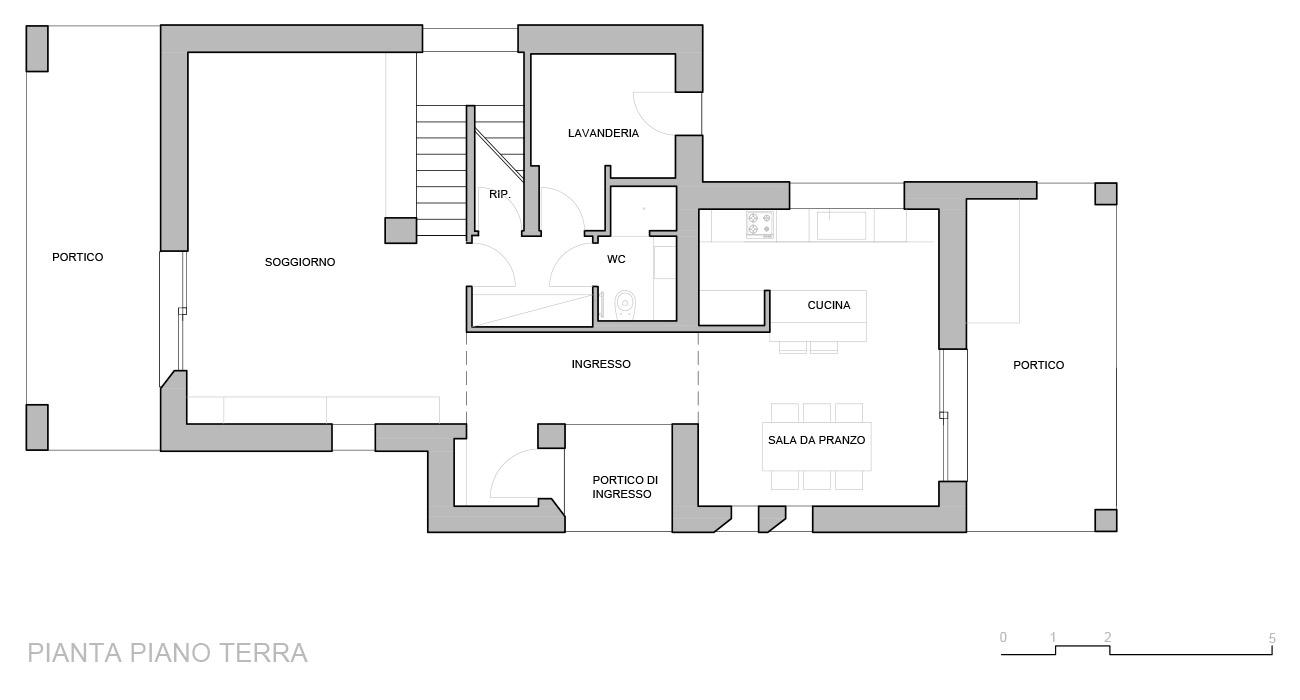 Estremamente 165 mq: una casa unifamiliare con spazi luminosi e funzionali YE98