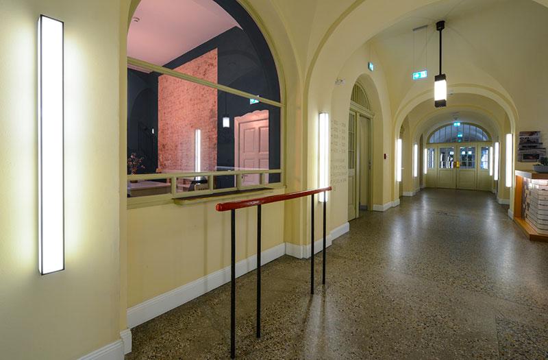 corridoio hotel oderberger