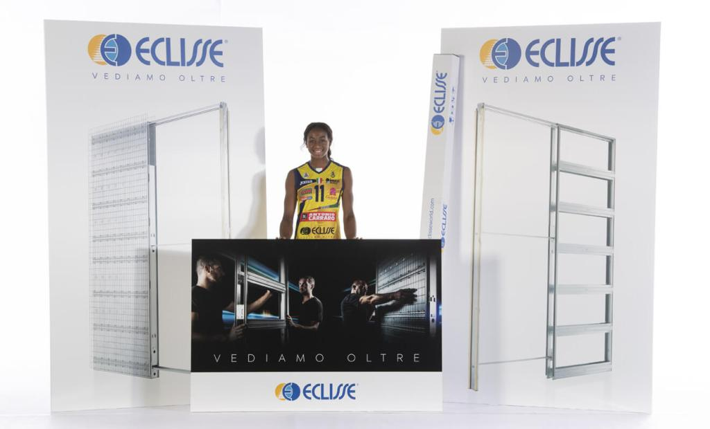 ECLISSE sponsor di Imoco Volley