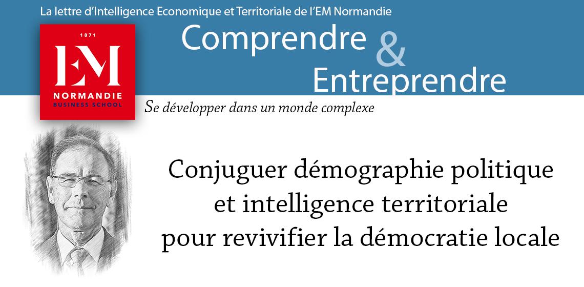 Gérard-François Dumont : Conjuguer démographie politique et intelligence territoriale pour revivifier la démocratie locale