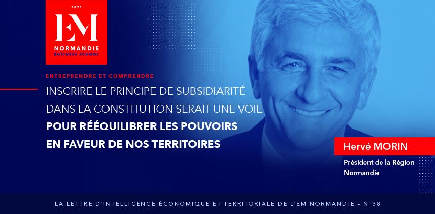Inscrire le principe de subsidiarité dans la constitution
