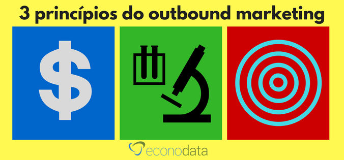3 princípios do outbound marketing
