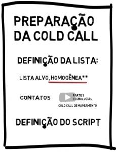 Preparação para o Cold Call