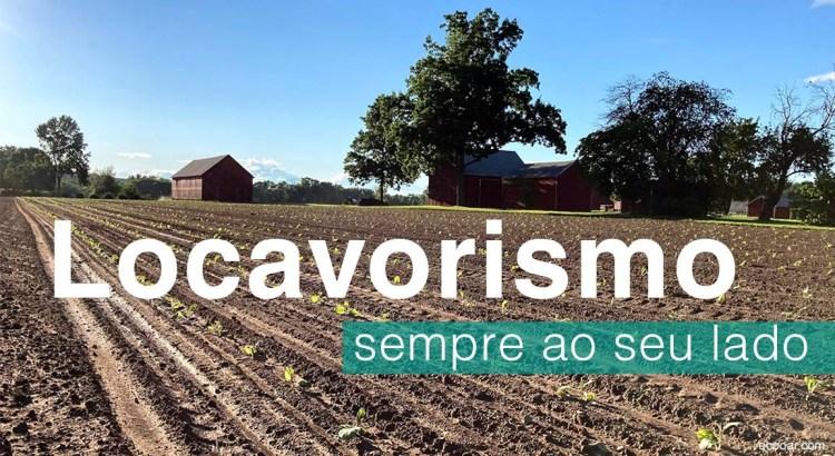 Foto mostra fazenda adepta do Locavorismo