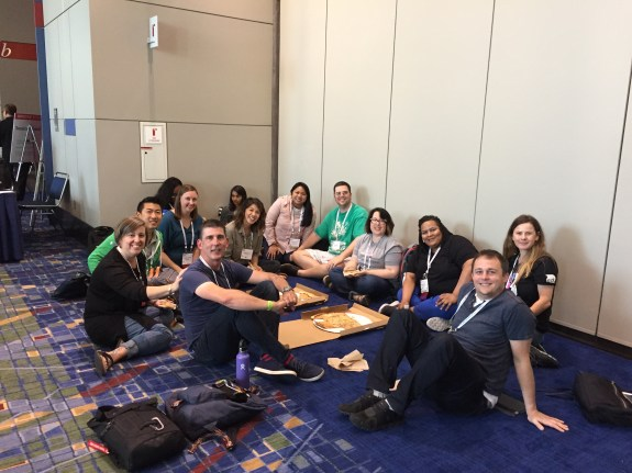TED-Ed Innovative Educators meet up at the ISTE Conference in Chicago.