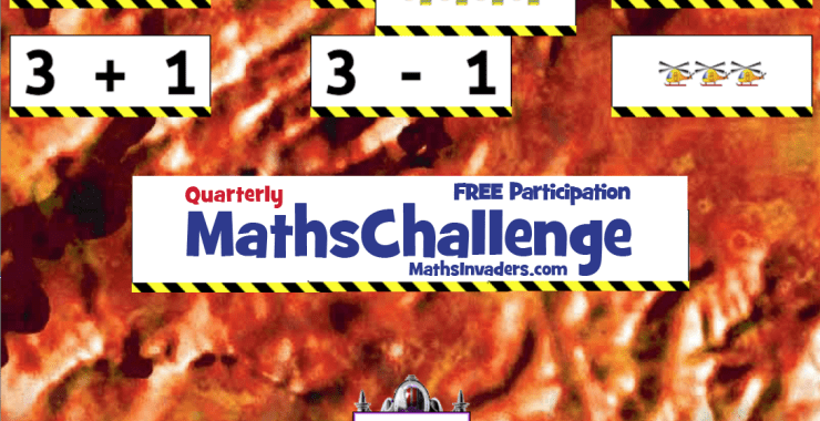 Maths Invaders follows Typing Tournament with it's Inaugural Online Challenge