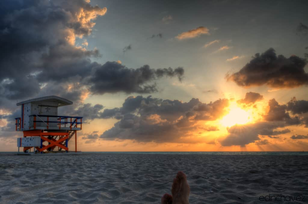 Shot of the Day-Rise and Shine in SoBe - image  on https://blog.edinchavez.com