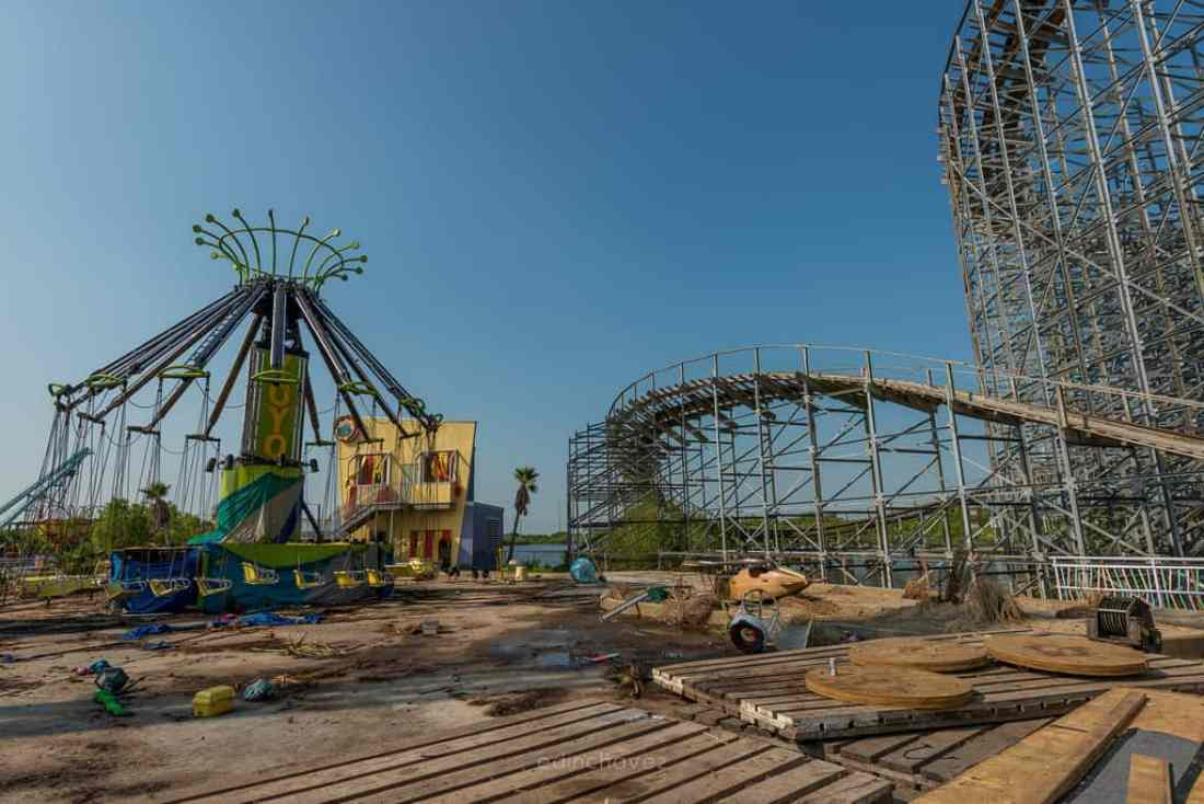 Abandoned Six Flags New Orleans-81