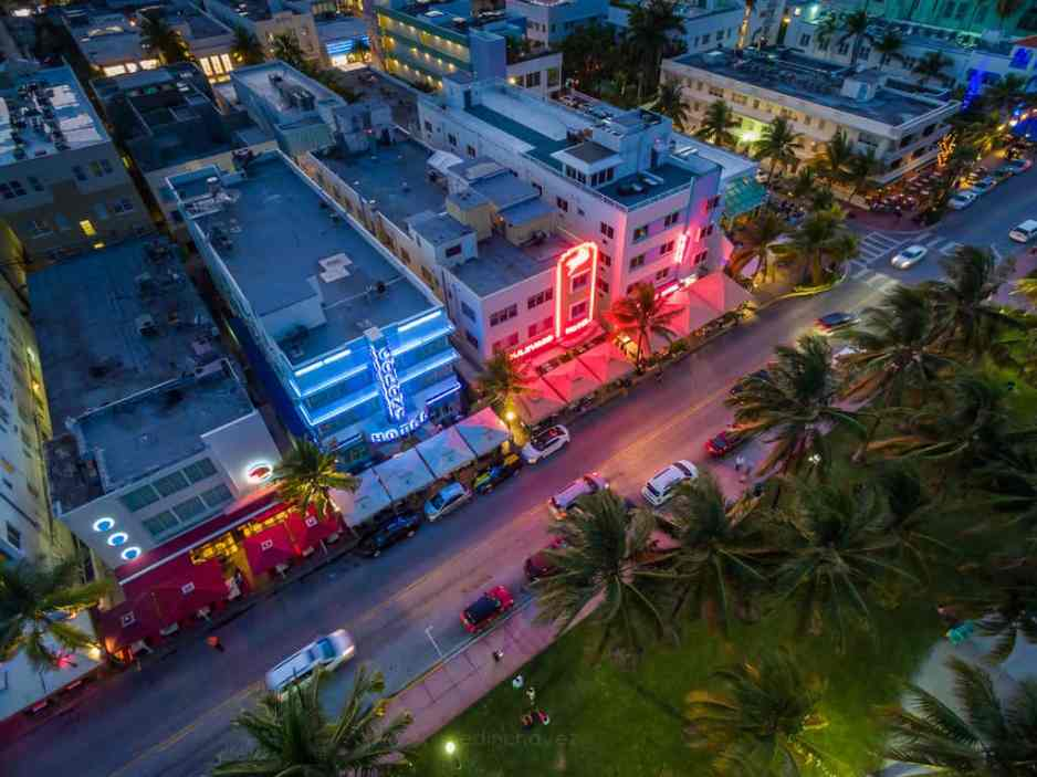 Ocean Drive Iconic Aerial Photographs - image  on http://blog.edinchavez.com