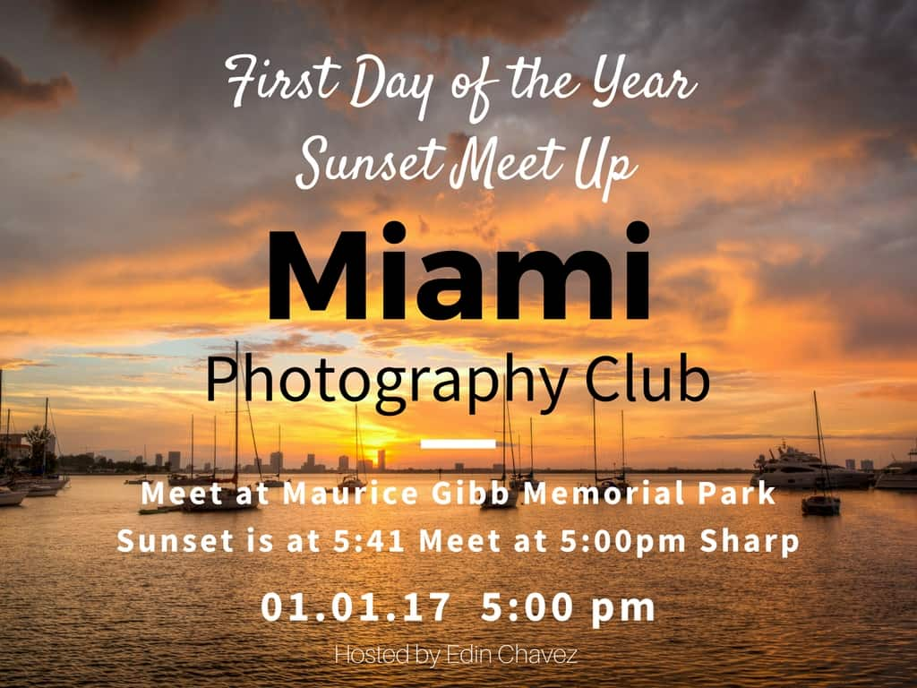 First day of the year sunset Meetup - image  on https://blog.edinchavez.com