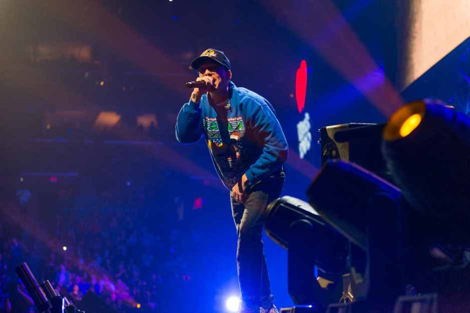 Photos of logic on stage