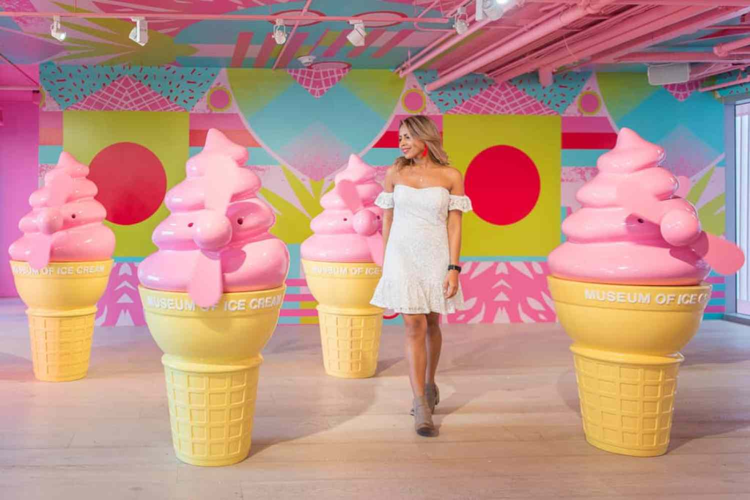 museum of ice cream miami a place as colorful as you would imagine. Black Bedroom Furniture Sets. Home Design Ideas