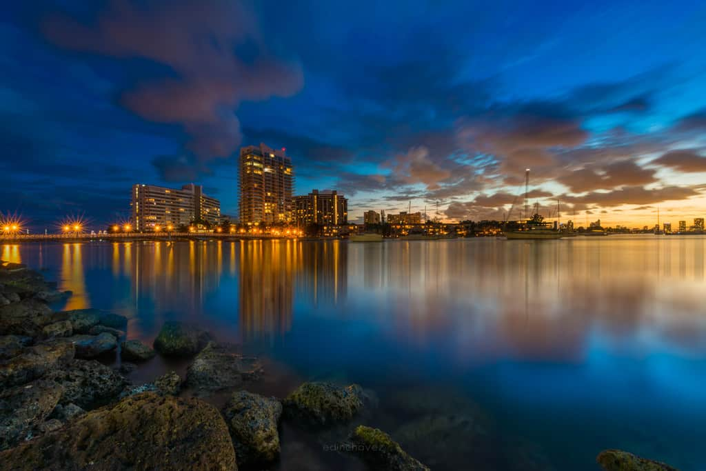 Sunset Maurice Gibbs Park Miami Beach best photography spots Miami