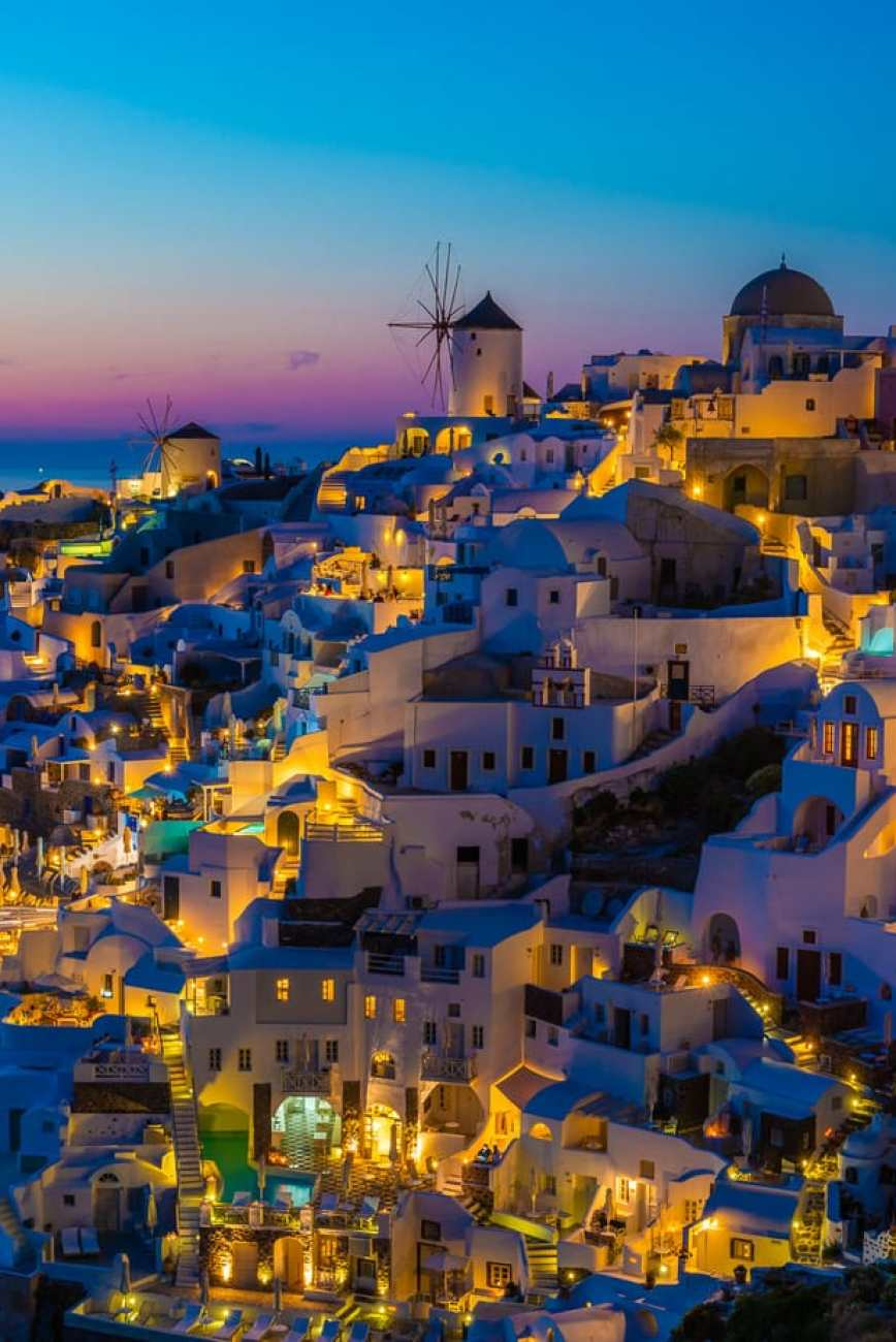 Best photography places in Santorini for sunset