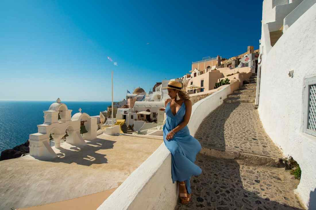 Santorini 4 Bells Best Photography Spots in La Oia