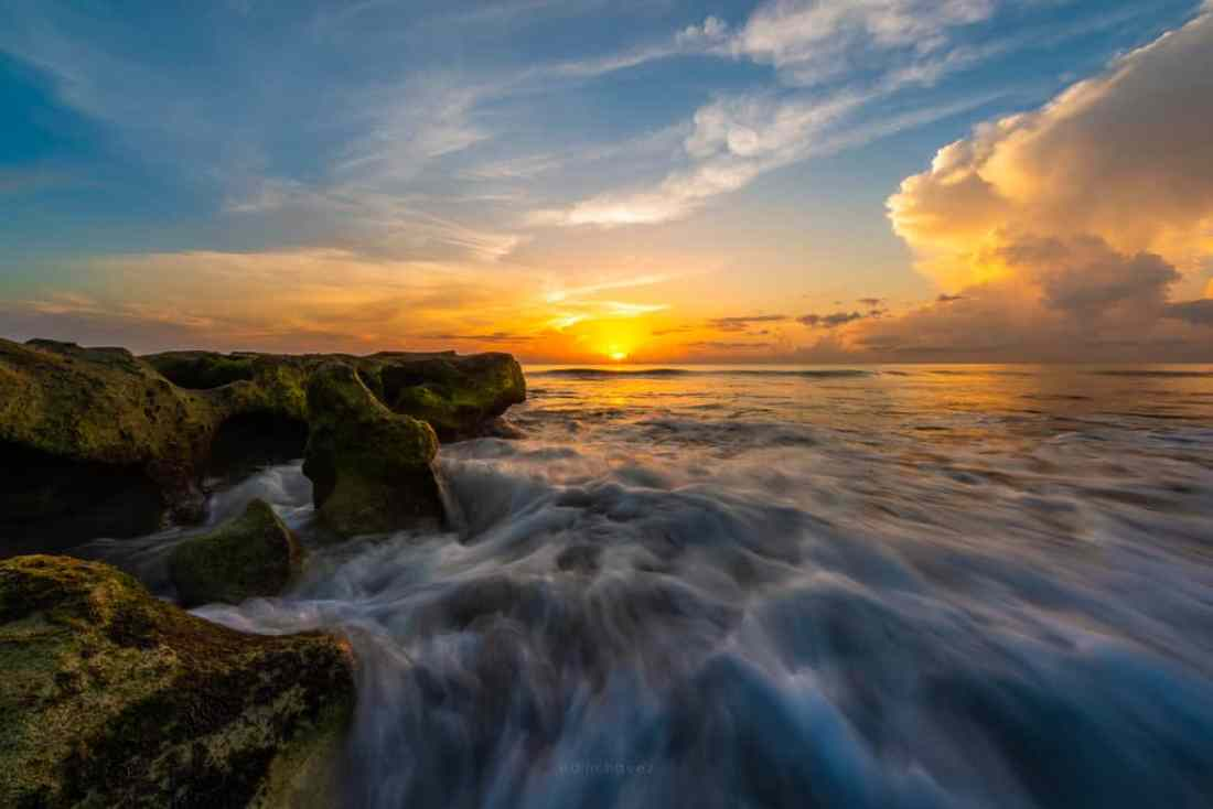 Best Places to photography inJupiter Florida Blowing Rocks