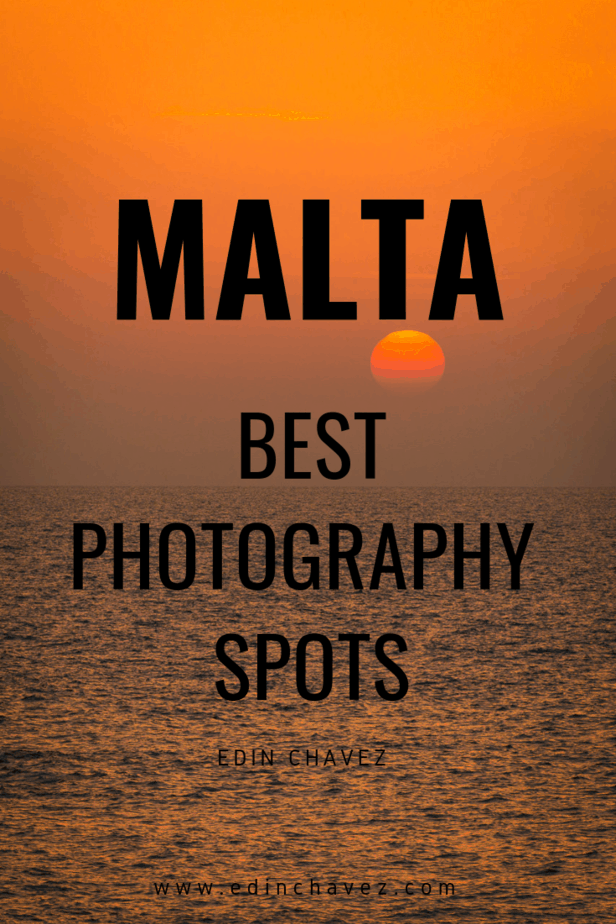 Best phtoography spots in Malta and Gozo