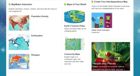 homework help - maps