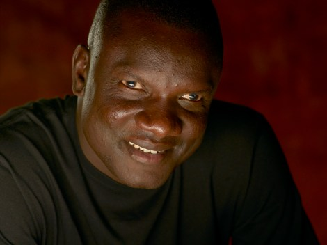 """John Dau is a human rights activist and former """"Lost Boy,"""" one of thousands who fled the brutal Sudanese civil war on foot across sub-Saharan Africa. Today, Dau is a National Geographic Explorer concerned with establishing medical and social infrastructure in the new nation of South Sudan. Photograph by Mark Thiessen, National Geographic"""
