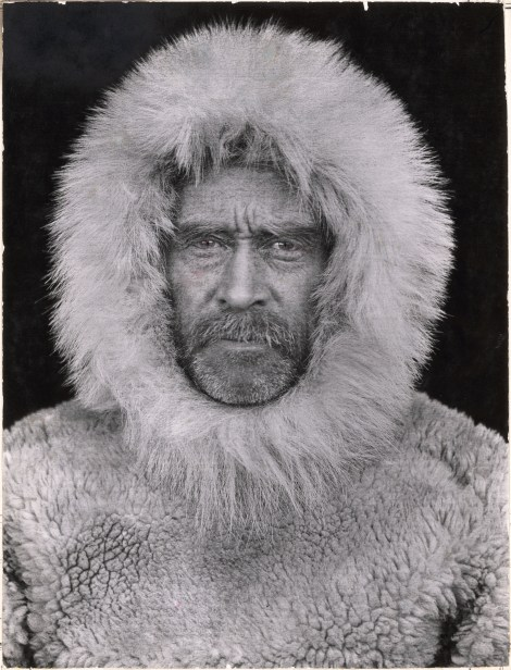 A portrait of Robert E. Peary, famous polar explorer. Photograph by Robert E. Peary, National Geographic Creative