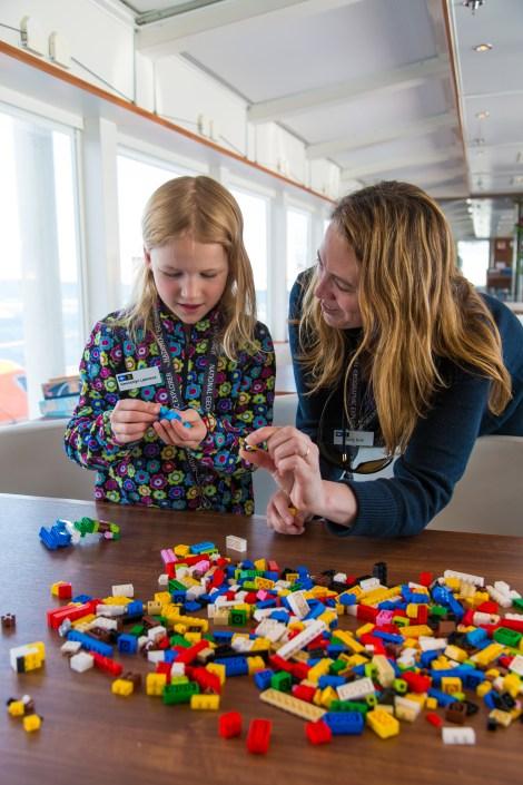 Holly Doe, a Grosvenor Teacher Fellow, in Svalbard, Norway