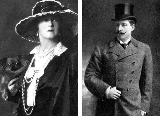 "Lady Lucy and Sir Cosmo Duff-Gordon were survivors of Titanic's Lifeboat 1, nicknamed the ""Money Boat."" Sir Cosmo was a titled Scottish landowner—the fifth baronet of Halkin. Lady Lucy was a fabulously successful fashion designer. Five of the 12 people on Lifeboat 1 were first-class passengers. The rest were members of the crew. Photographs by Arnold Genthe, courtesy Library of Congress, and The Daily Sketch, courtesy Wikimedia"