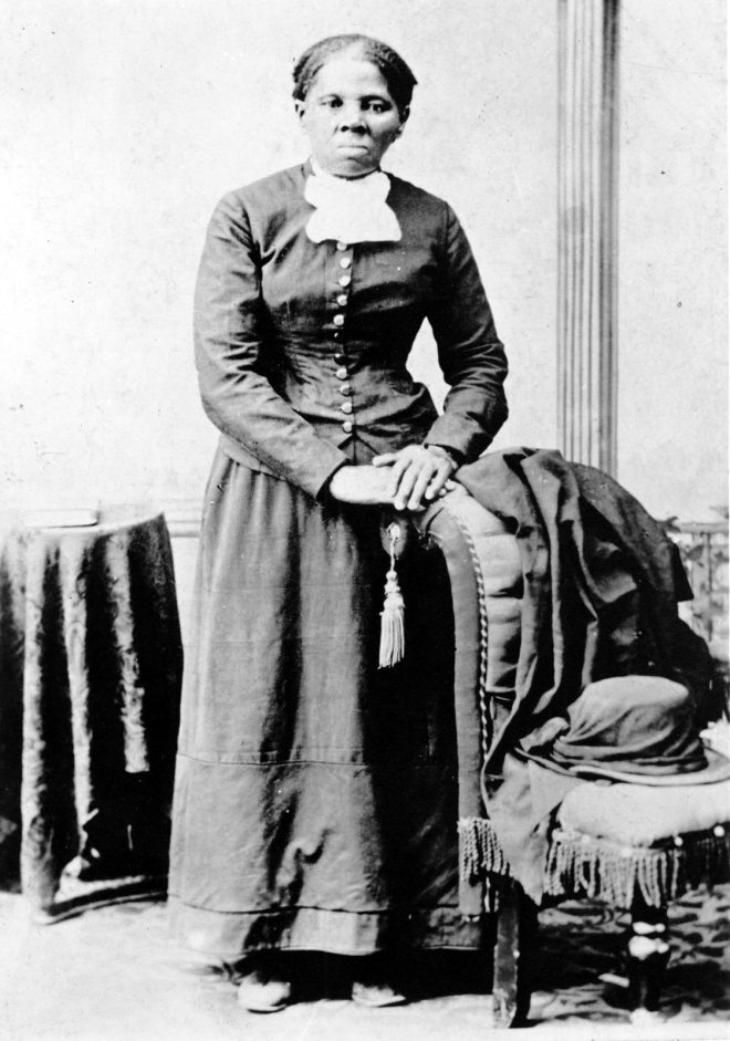 Harriet Tubman was born in Dorchester County, Maryland, on the eastern shore of the Chesapeake Bay, in 1822. She escaped from slavery in 1849, using the loosely affiliated networks of the Underground Railroad in Maryland, Delaware, and Pennsylvania. Less than a year later, she she began returning to Maryland to begin helping family members escape. Photograph by H. B. Lindsley, courtesy Library of Congress