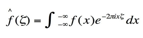 The Fourier transform is used to compress information for JPG images.