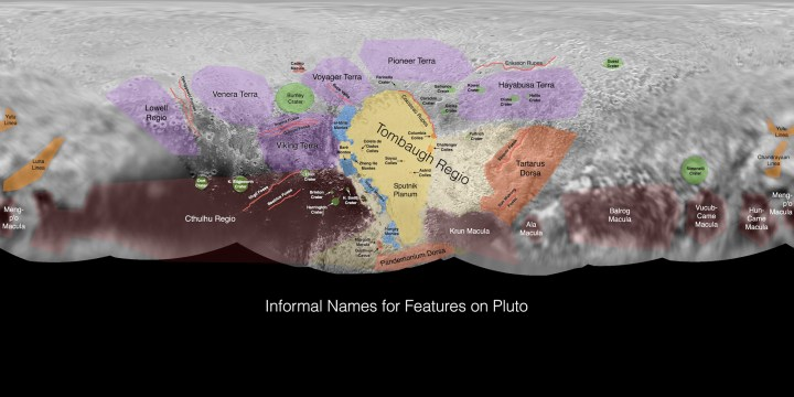 Pluto, Annotated