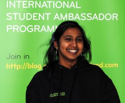 WIT Ambassador Jaslin Jose