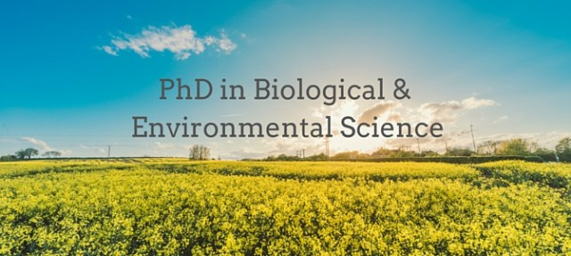 UCD & Teagasc: choosing my PhD in Biological and Environmental Science