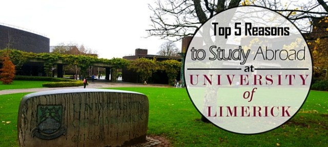 Top five reasons to study at the University of Limerick