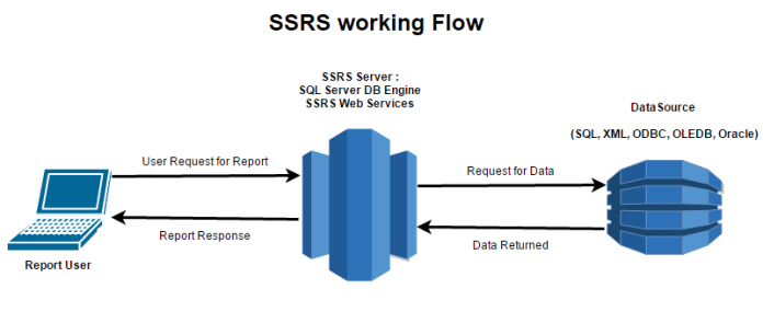 Workflow of SSRS