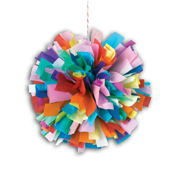 Decoration With Crepe Paper