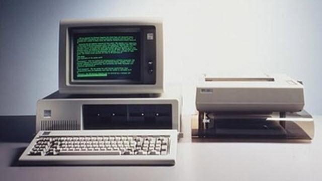 IBM PC 5150 İlk kişisel bilgisayar