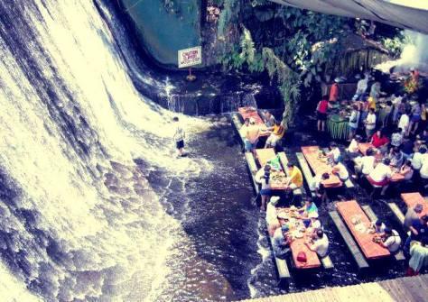 Villa Escudero Waterfalls Restaurant