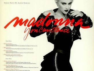 Madonna You Can Dance Single Edits