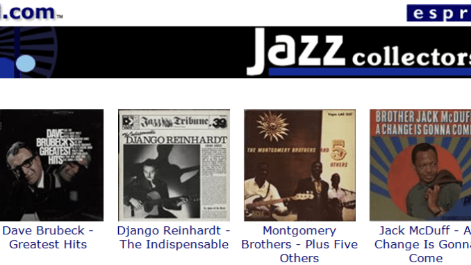 the eil.com Jazz Newsletter