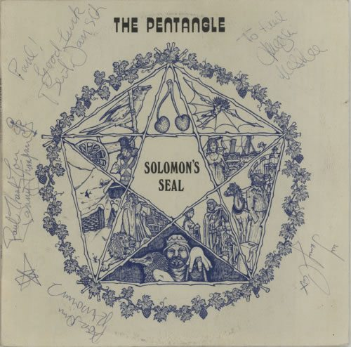 Signed NZ pressed Pentangle!