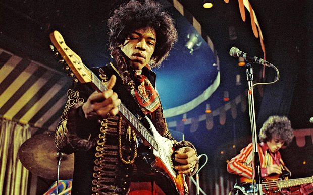 16987j /  Jimi Hendrix at the Marquee Club
