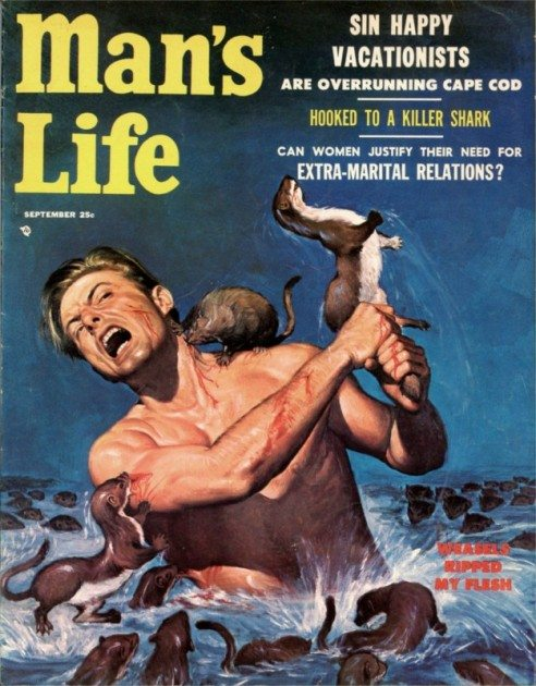 Mans-Life-1956-09-Sept-Cover-by-Wil-Hulsey.-8x6-492x630