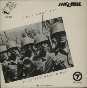 "Boys Don't Cry 1979 Australian 7"" vinyl single on the 'Stunn' 18 Age Record label"