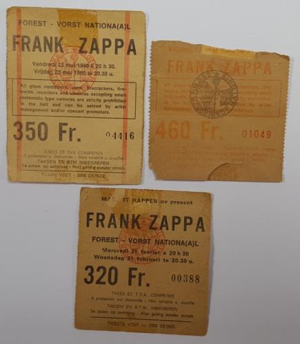 Frank+Zappa+Ticket+Stubs++Stickers+631735