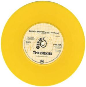 The+Dickies+Banana+Splits+-+Yellow+Vinyl+115081b