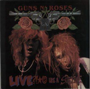 "GUNS N ROSES Live Like A Suicide - Original 1986 US Uzi Suicide label 4-track 12"" EP"