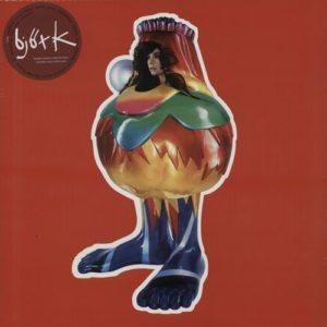 Bjork Volta Red & Green Vinyl LP issued in 2015