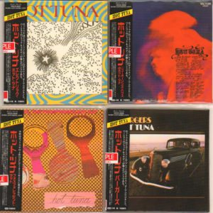 Paper Sleeve Series Complete set of Seven 2012 Japanese sample issue of the limited edition digitally remastered high definition 96KHZ/24-bit Audiophile quality CD's