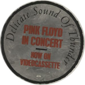 In Concert - Delicate Sound Of Thunder vintage, 1989 UK promotional only record store/video shop display